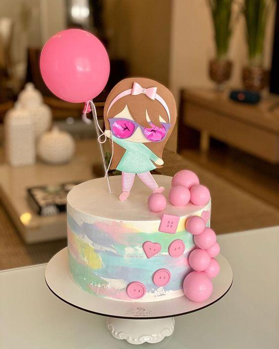 tie dye cake 5