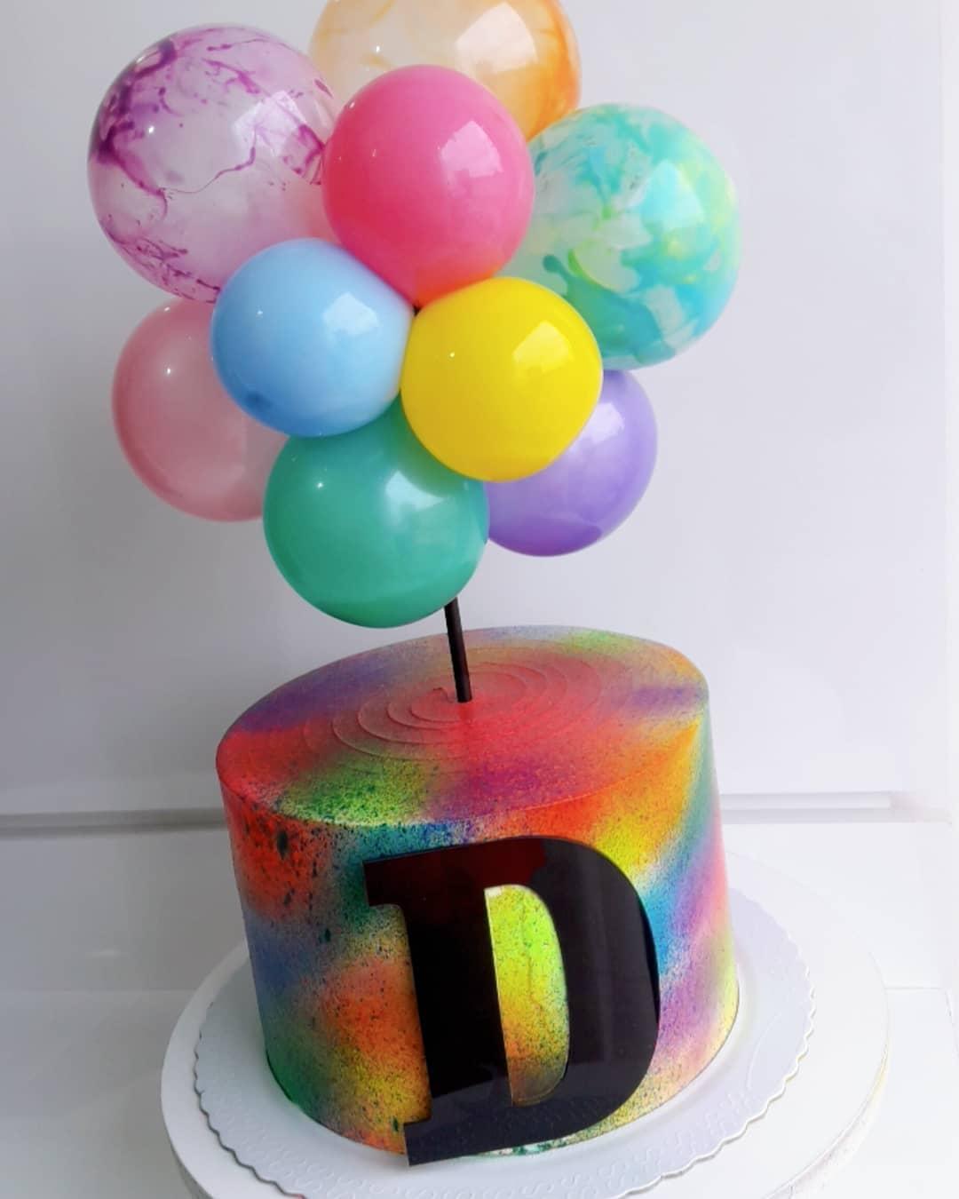 tie dye cake 8