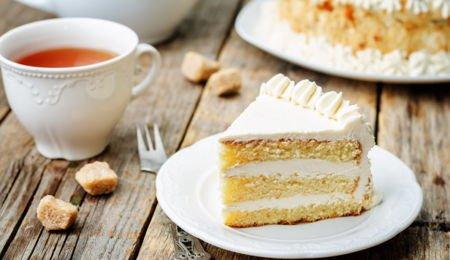 vanilla cognac cake