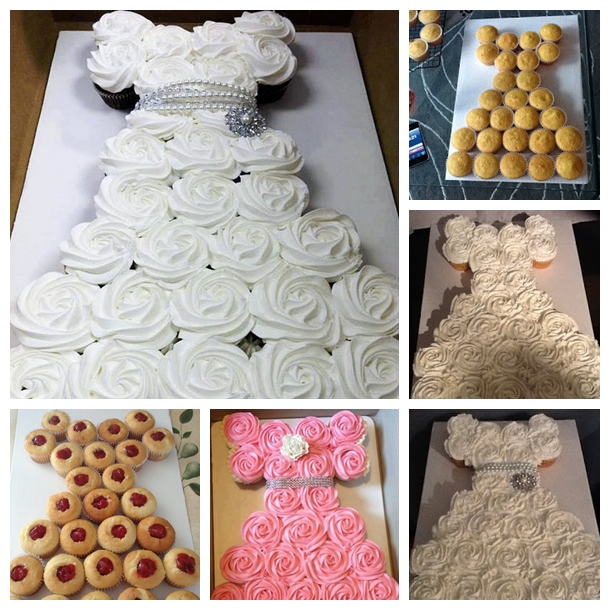 wedding cupcake F