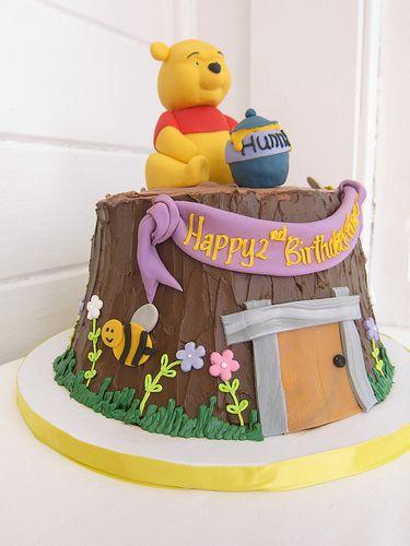 winnie the pooh birthday cake 3