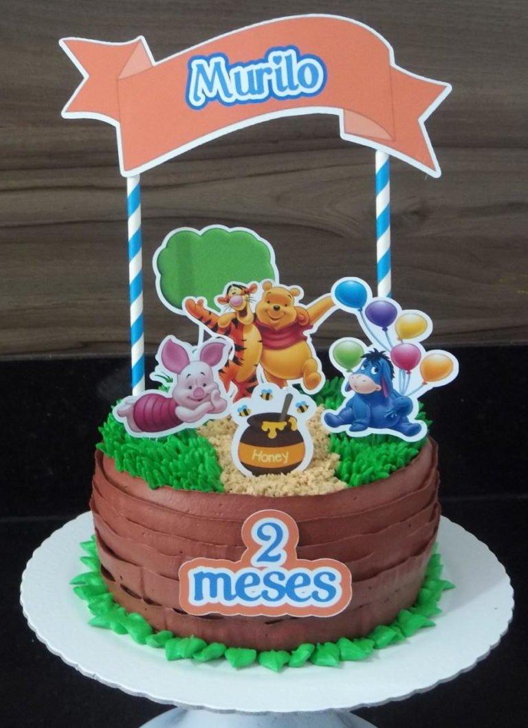 winnie the pooh birthday cake 4