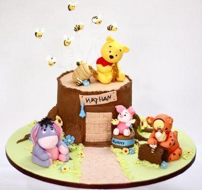 winnie the pooh birthday cake 5