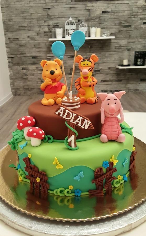 winnie the pooh birthday cake 7