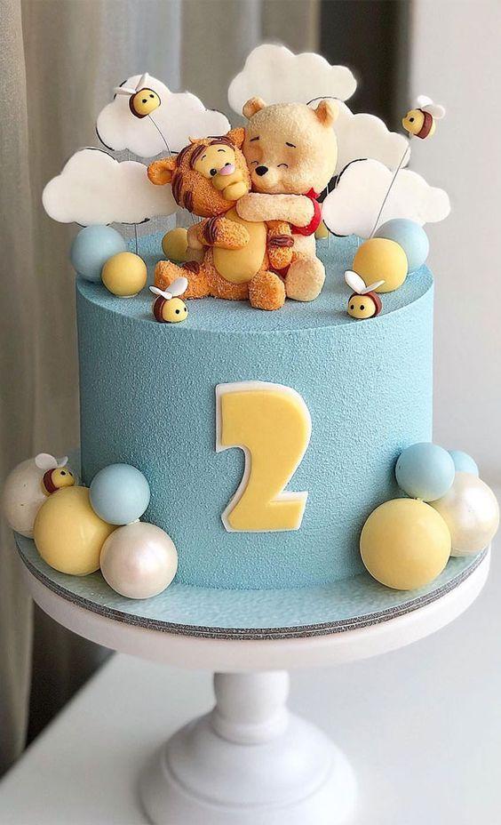 winnie the pooh birthday cake 9